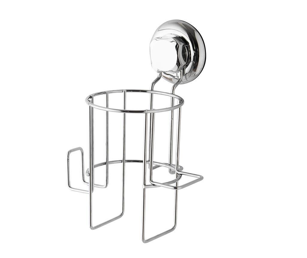 Suport pentru uscatorul de par Bestlock - Compactor, Gri & Argintiu