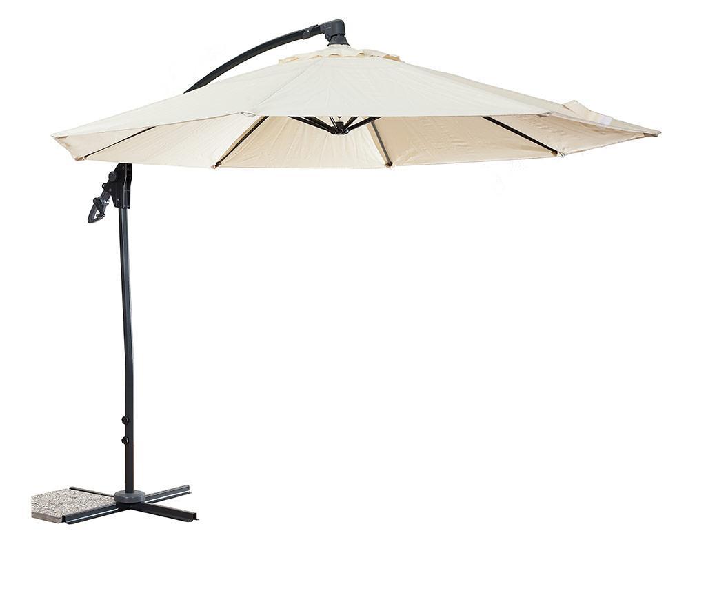 Umbrela de gradina Garden Use - Luigi Dal Pozzo, Crem