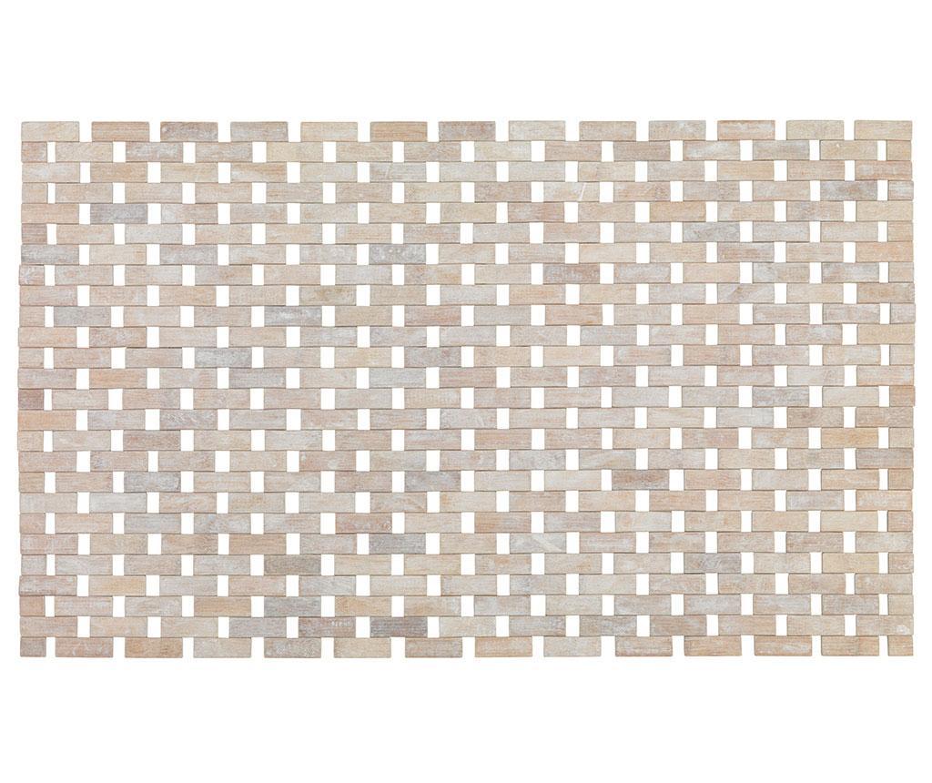 Covoras de baie Rustic Nature 50x80 cm - Wenko, Crem
