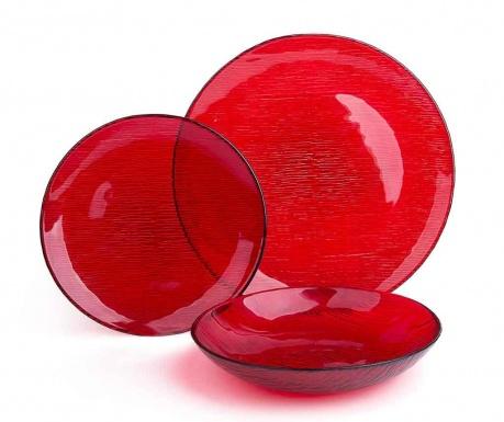 Jedálenská sada 12 ks Scatch Red