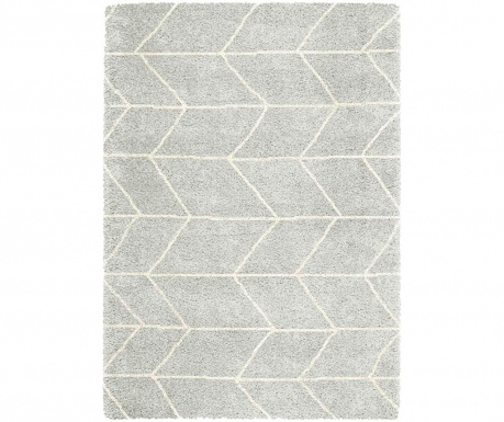 Covor Logan Blocks Silver Ivory 160x230 cm