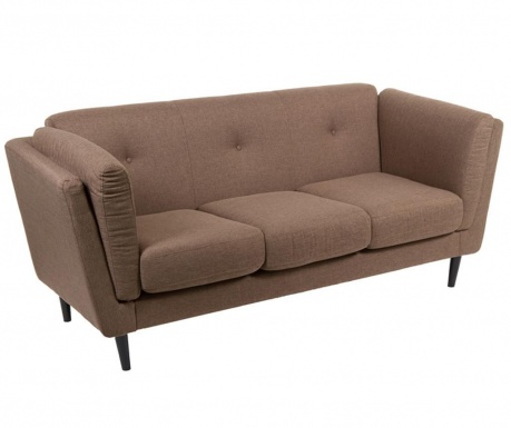 Canapea 3 locuri Mawusi Brown