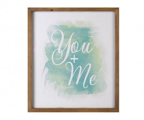 Obraz You & Me 35.9x42 cm