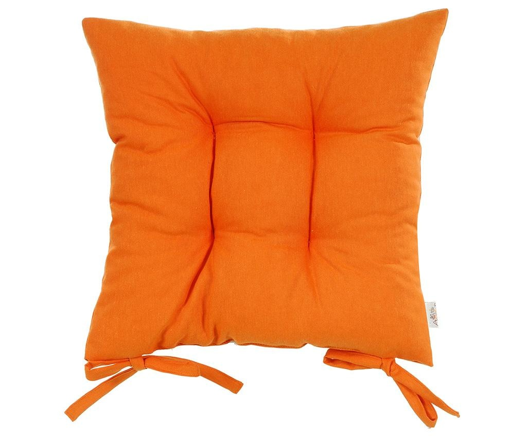Perna de sezut Pure Orange 37x37 cm