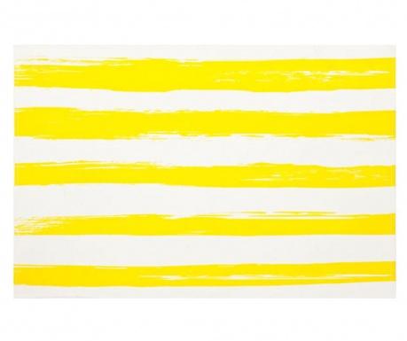 Prostírání Raye Yellow White 30x45 cm