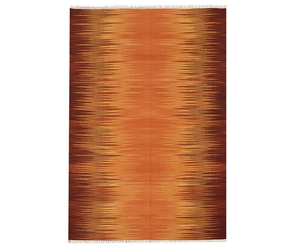 Tepih Kilim Modern Orange 140x200 cm
