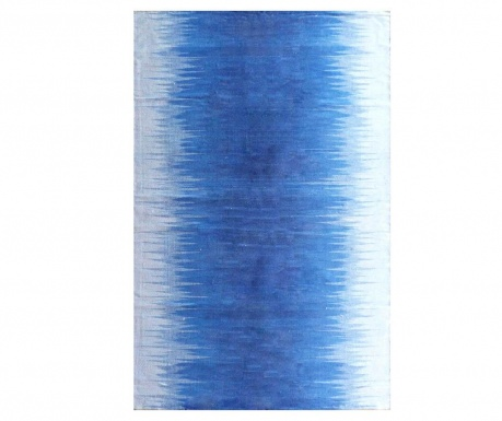 Koberec Kilim Gradient Blue