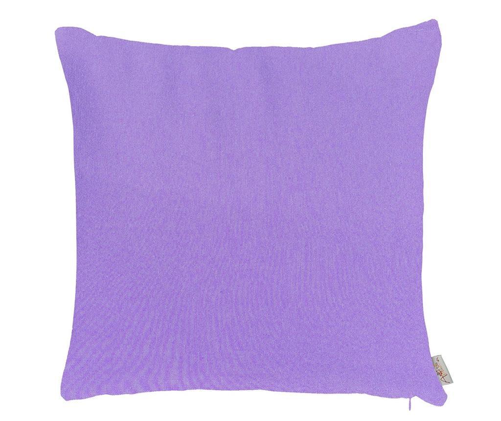 Obliečka na vankúš Thoughts Purple 41x41 cm
