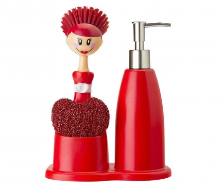 Set de bucatarie 3 piese Doll Red