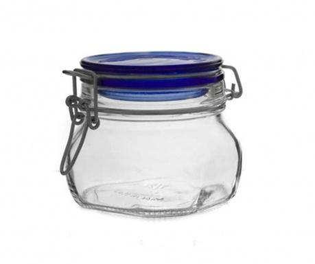 Fido Blue Befőttesüveg hermetikus fedővel 500 ml