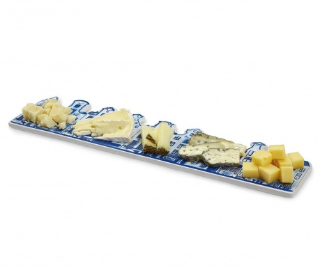 Плато за сирена Delft Blue