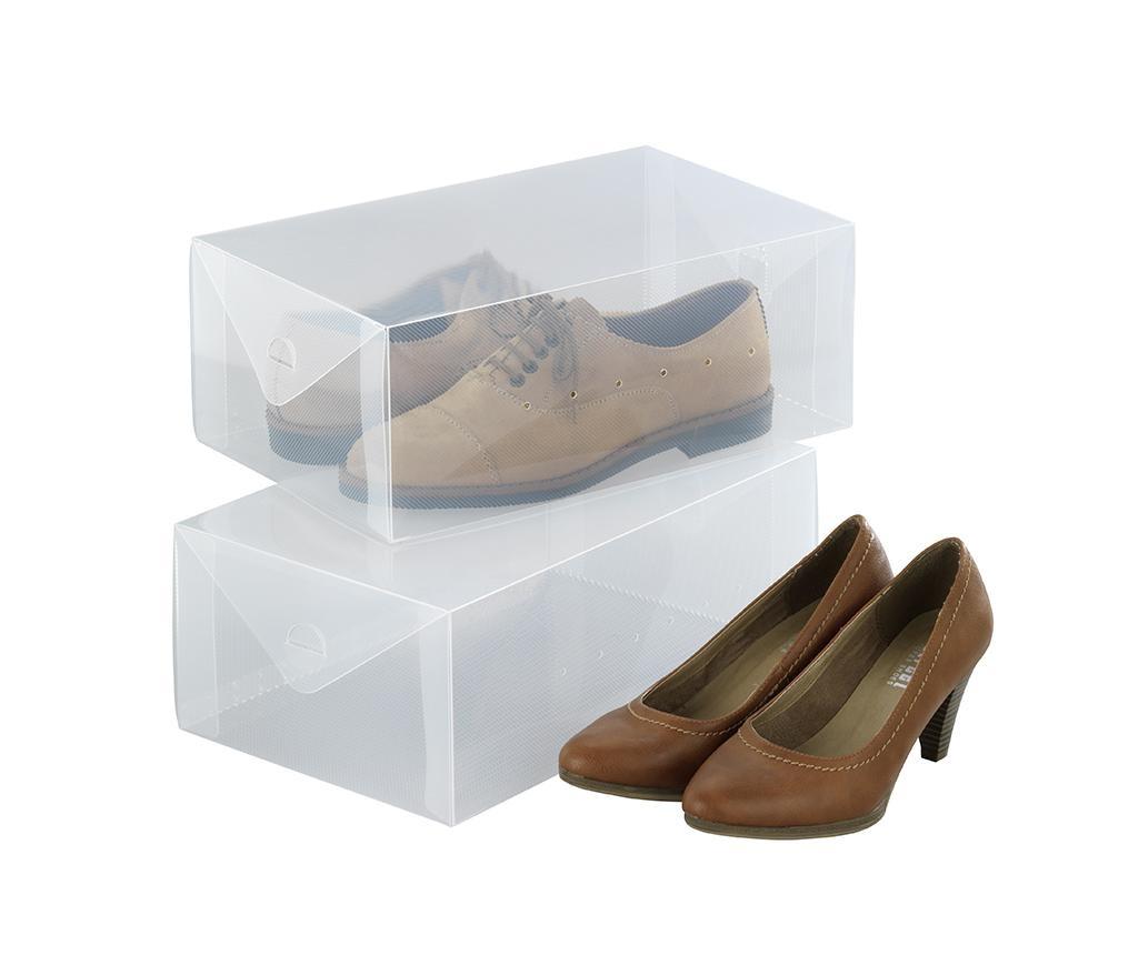 Set 2 kutije za spremanje cipela Ayden