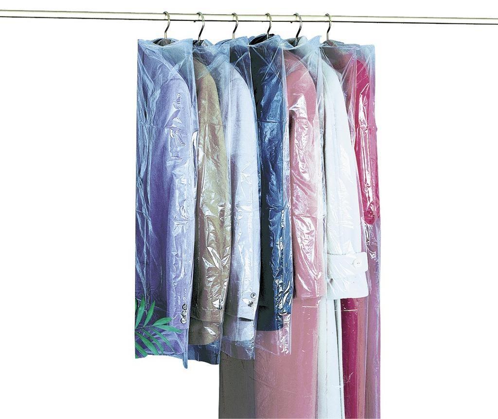 Комплект 6 протектора за дрехи Mateo 65x100 см