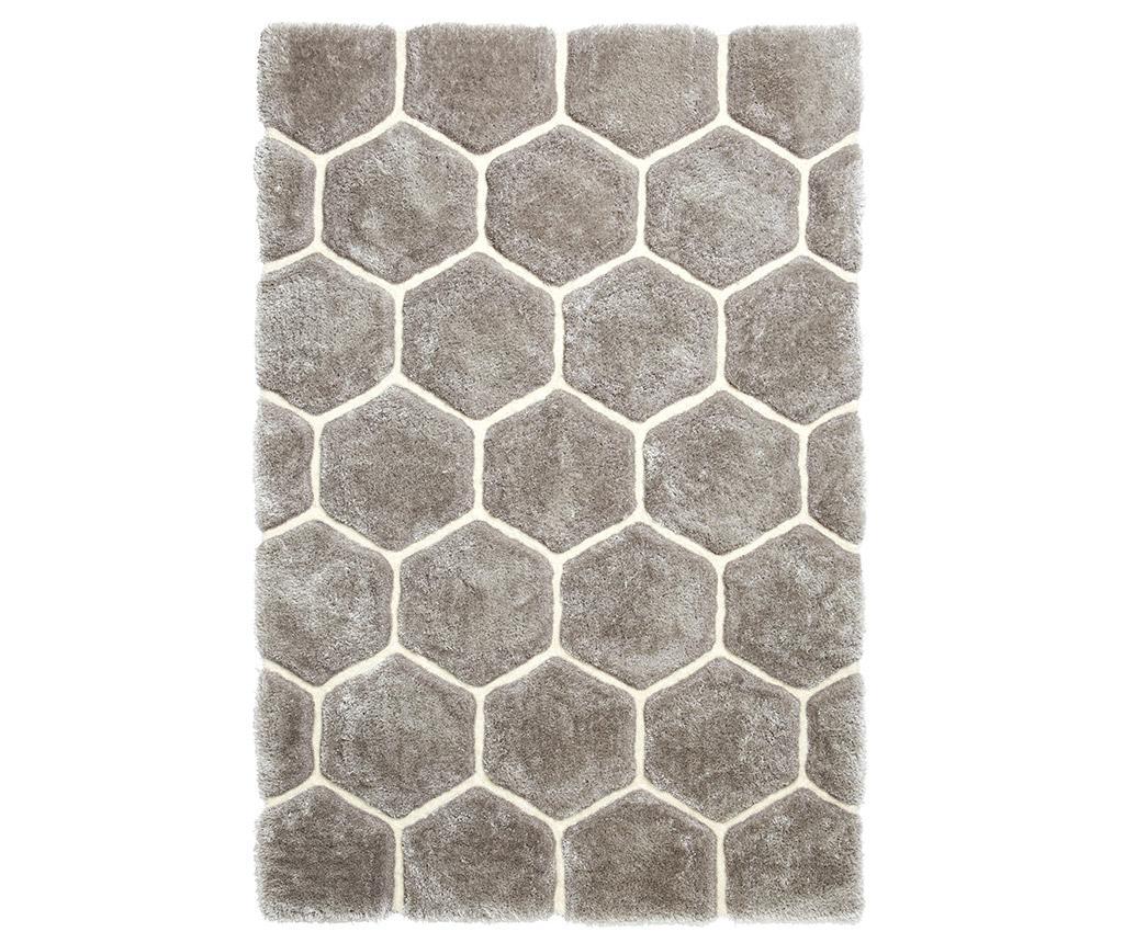 Covor Noble House Grey White 150x230 Cm - Think Rugs, Gri & Argintiu