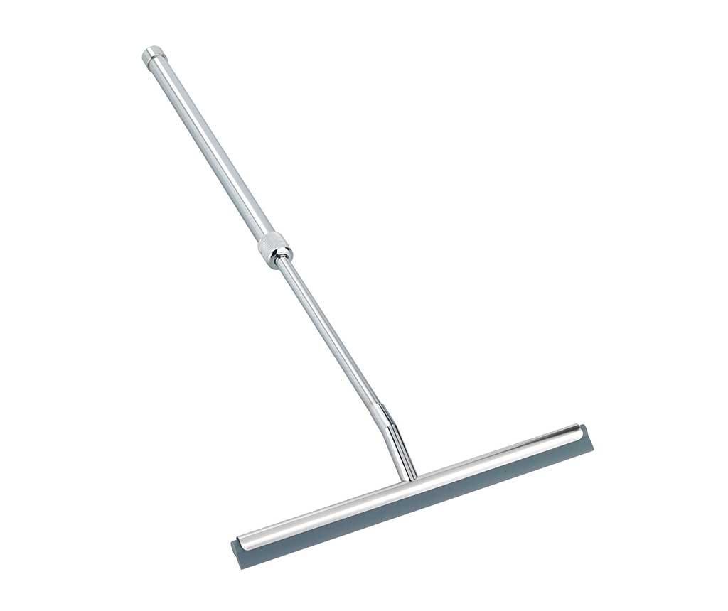 Racleta telescopica pentru baie For Shower - Wenko, Gri & Argintiu