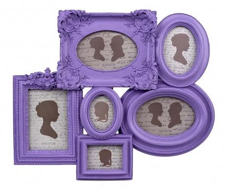 Κορνίζα 6 φωτογραφιών Purple Har