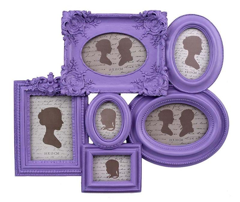 Okvir za 6 slika Purple Har