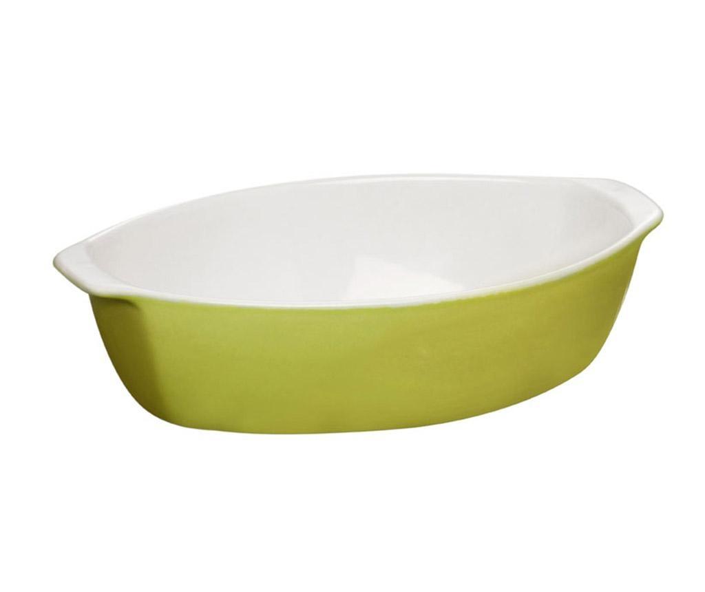 Oven Love Oval Lime Sütőedény