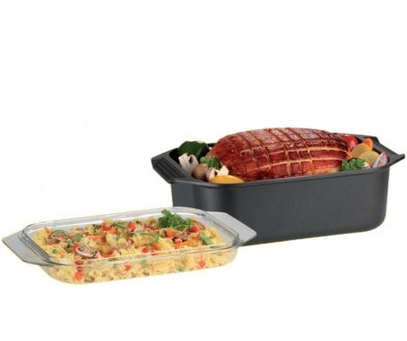 Съд за печене с капак Gourmet Frey 8.8 L