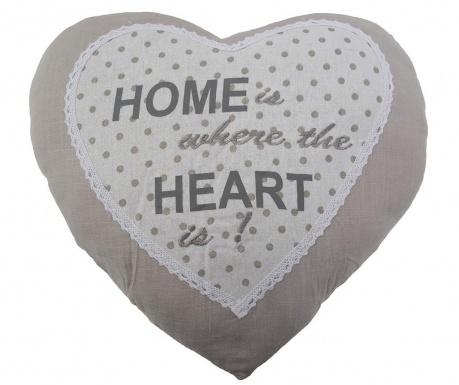 Love Home Díszpárna 40x40 cm