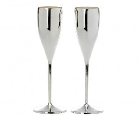 Sada 2 sklenic na šampaňské Feast 200 ml