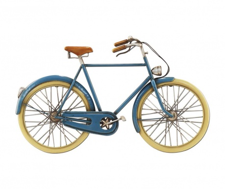 Blue Bicycle Fali dekoráció