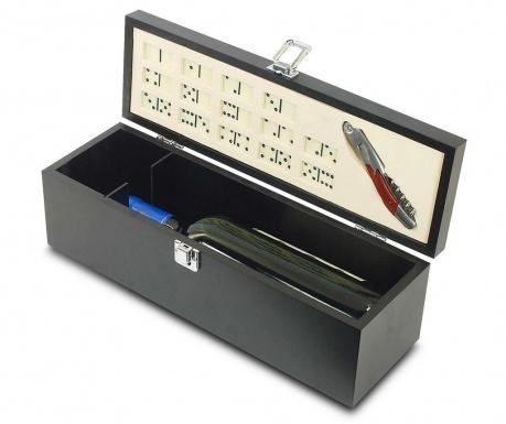 Set of dominoes and bottle opener Errol