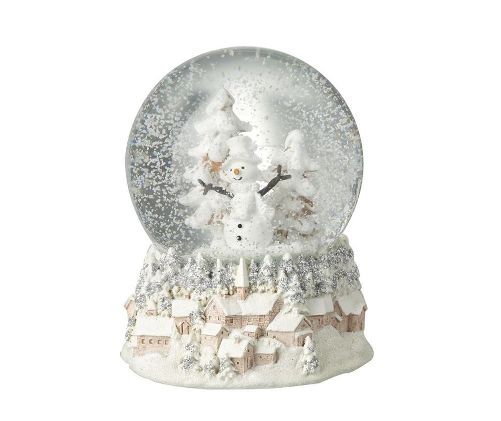 Decoratiune Snowman - Heaven Sends, Alb