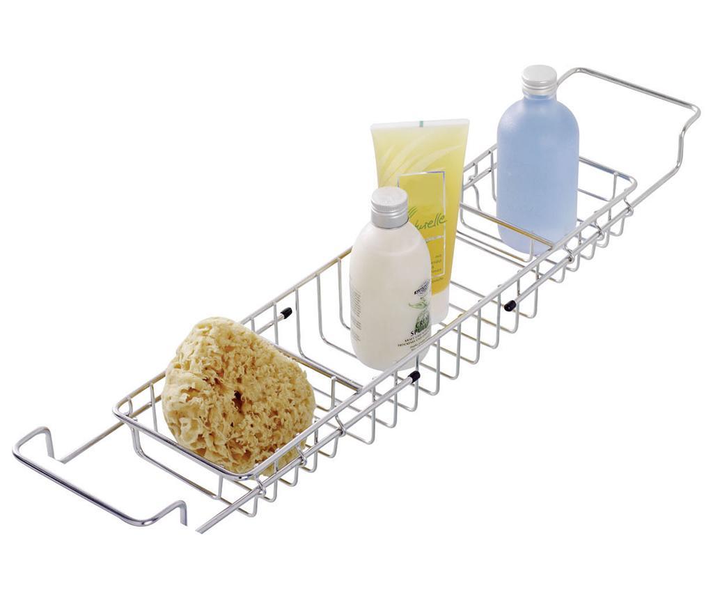 Suport extensibil accesorii de baie pentru cada Milano - Wenko