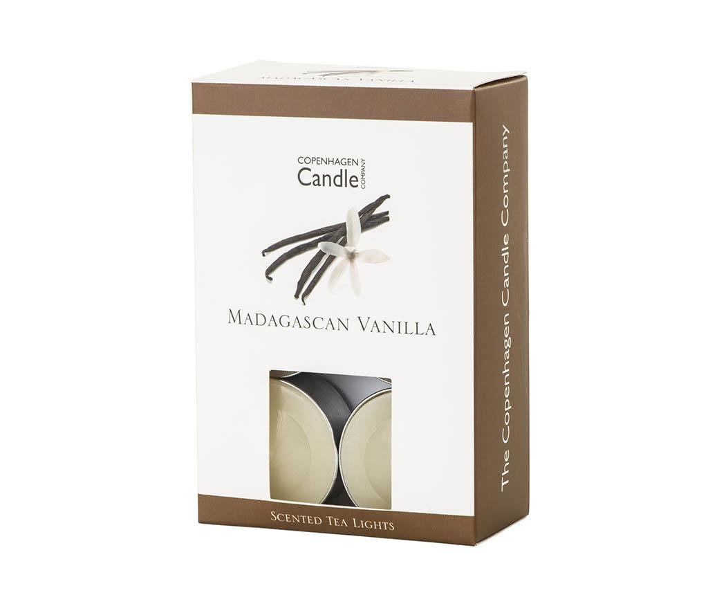 Madagascar Vanilla 12 db Illatgyertya