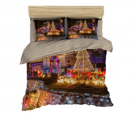 Set de pat Double Ranforce Christmas Decorations 3D Print