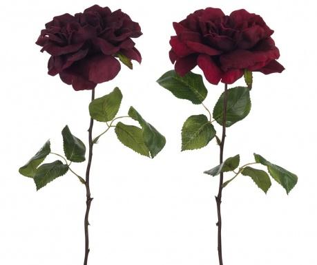 Zestaw 2 sztuczne kwiaty Opened Roses