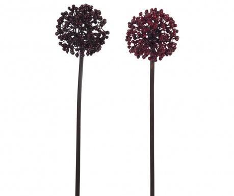 Комплект 2 изкуствени цветя Berry