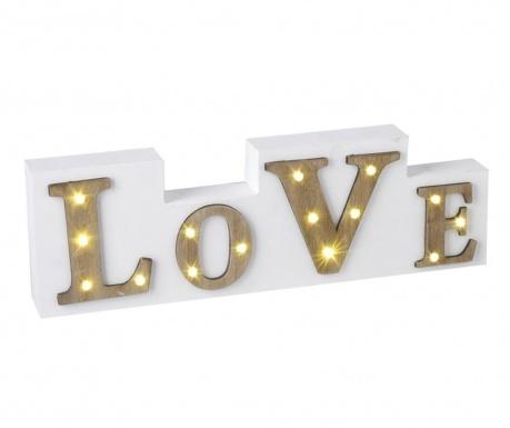 Světelná dekorace Love It