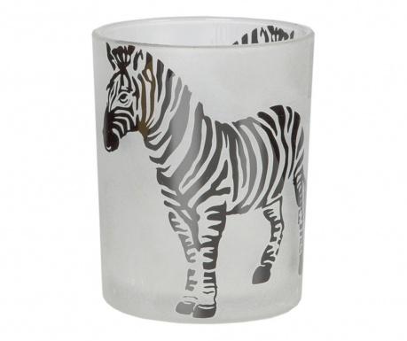 Zebra Gyertyatartó
