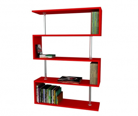 Knjižni regal Quoridor Red
