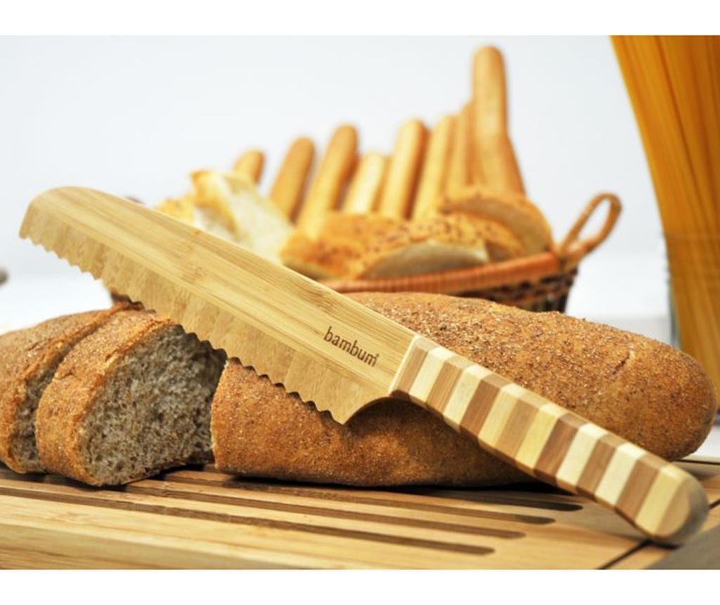 Nůž na chléb Bambu Notched