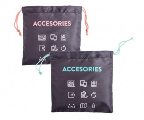 Set 2 saci pentru accesorii Travel