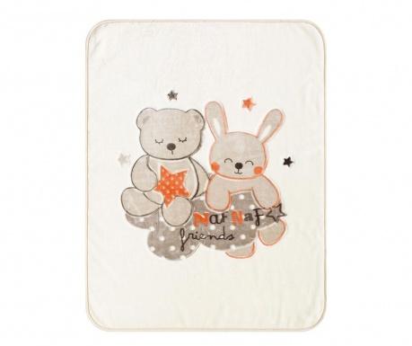 Pokrivač Friends Beige 110x140 cm