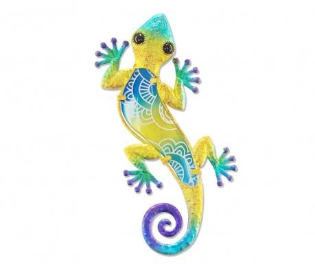 Dekoracja ścienna Half on Lizard Yellow