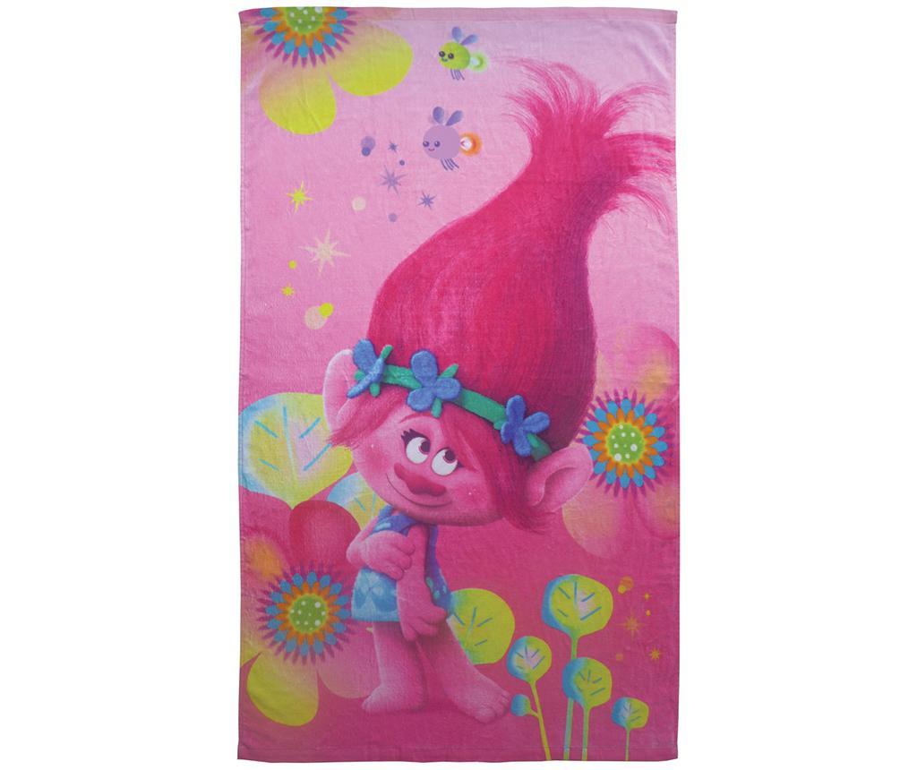 Prosop de baie Trolls Poppy 70×120 cm