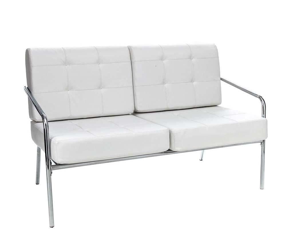 Sofa Jazz Alb Alb Tomasucci