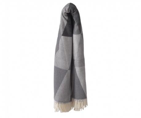 Priročna odeja Pisa Grey & Dark Grey 140x180 cm