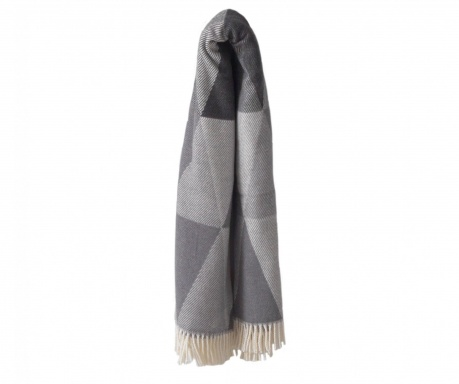 Pléd Pisa Grey & Dark Grey 140x180 cm