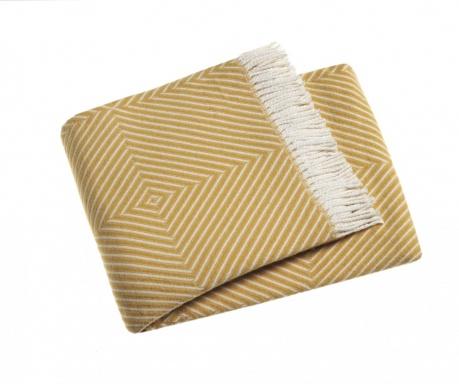 Priročna odeja Tebas Yellow 140x180 cm