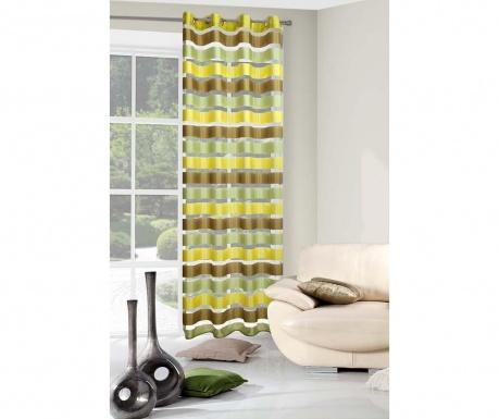 Zasłona zaciemniająca Stripes Yellow 140x250 cm