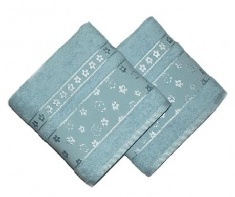 Zestaw 2 ręczników kąpielowych Spring Mint 50x90 cm