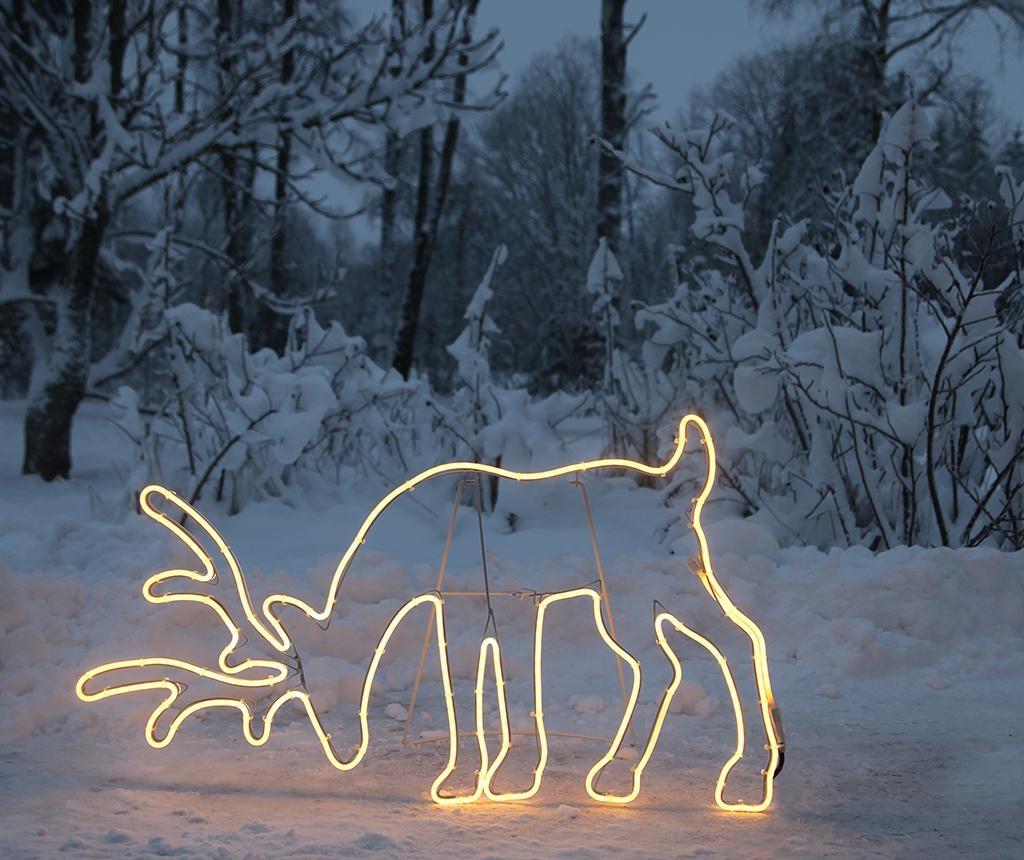 Decoratiune luminoasa pentru exterior Big Deer Star
