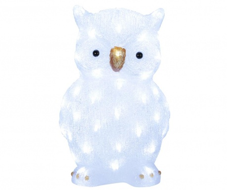Светеща декорация за екстериор Owl