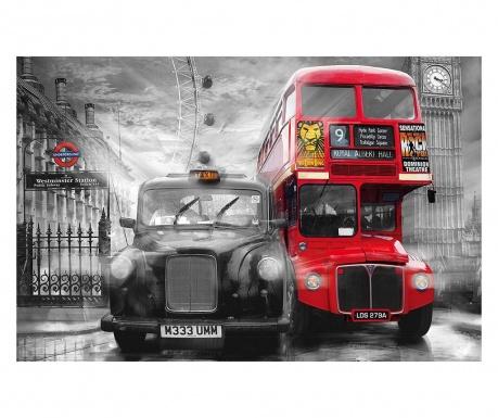 Тапет Taxi & Bus 115x175 см